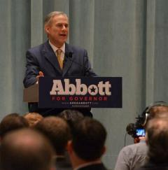 Greg Abbott at HRBC meeting