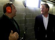 Alex Jones and Piers Morgan at Tactical Firearms Shooting Range