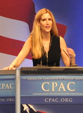 Ann Coulter on liberals, foreign policy, conservative gays, values, democracy, democratic hypocrisy
