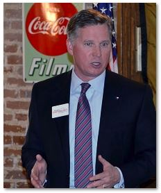 Barry Smitherman at Downtown Houston Pachyderm Club