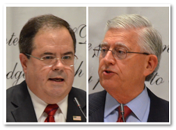 Bob Price and Larry Korkmas Debate Border Security and Immigration Reform