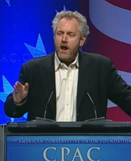 Andrew Breitbart shares trick to fluster community organized thugs, code pink