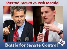 Sherrod Brown vs Josh Mandel