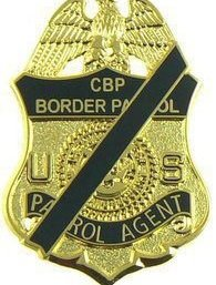 US Customs and Border Patrol Badge - Mourning