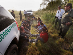 Border Patrol with Detainees
