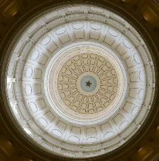 Texas Capitol Dome by Bob Price