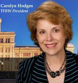 Carolyn Hodges, TFRW President