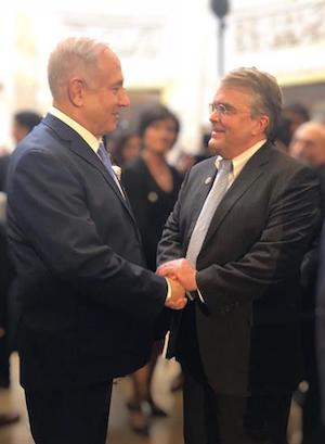 Israel's Prime Minister Benjamin Netanyahu and Congressman Culberson