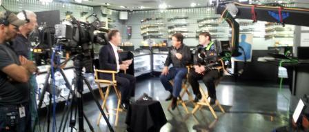 Dan Patrick and Piers Morgan at Texas Gun Range