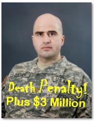 Hasan gets Death plus $3 Million