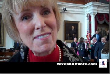 Debbie Riddle on the House Floor.JPG