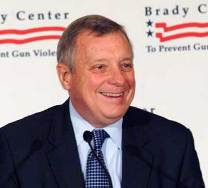 Dick Durbin at the Brady Center