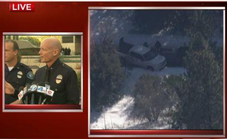 LAPD Dorner Briefing - White Dodge Truck