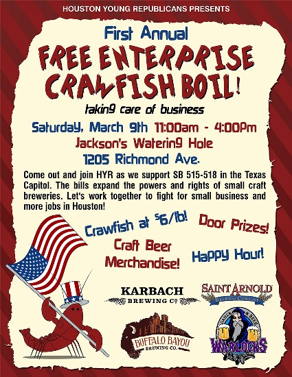 HYR - Free Enterprise Crawfish Boil