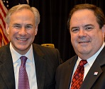 Texas Attorney General Greg Abbott and Bob Price