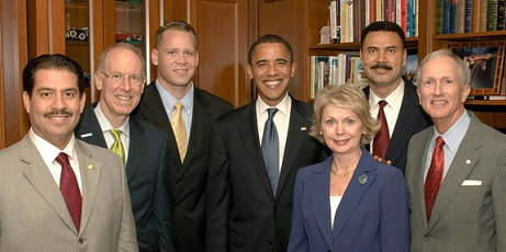 Harris County Democrats With Obama