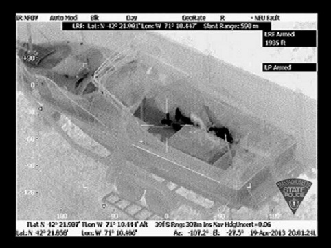 Boston Bombing Suspect #2 Hiding in Boat