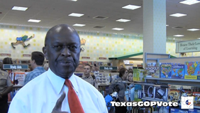 Herman Cain with TexasGOPVote.png