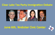 Clear Lake Tea Party Immigration Reform Debate
