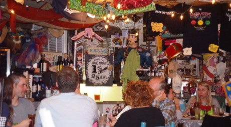 Inside Royer's Round Top Cafe