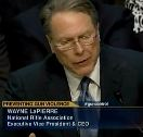 Wayne LaPierre at Senate Gun Control Hearing
