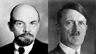 Lenin and Hitler