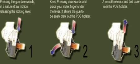Example of Level 2 Holster