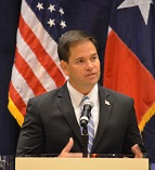 Senator Marco Rubio in Houston Texas