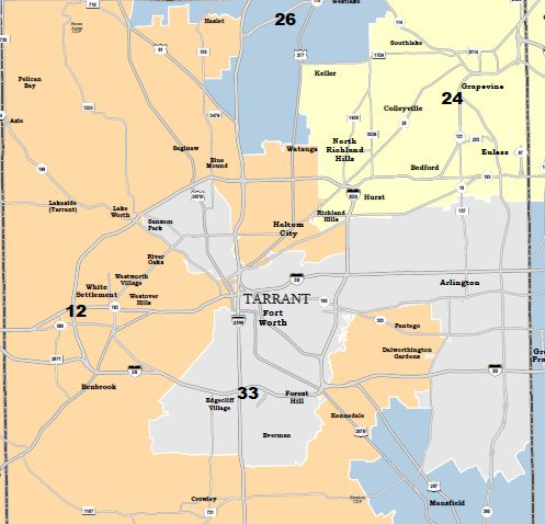 Federal Judge Releases Proposed Congressional District Map For - Us house of representatives texas district map