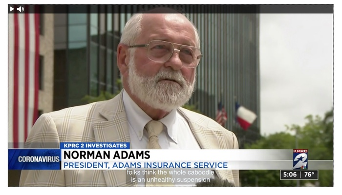 Norman Adams Houston News