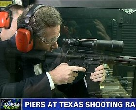 Piers Morgain Shooting in Texas