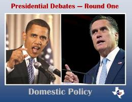 Presidential Debate - Round One