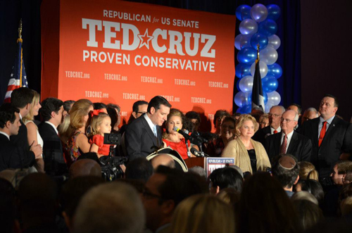 Ted Cruz Victory 2012