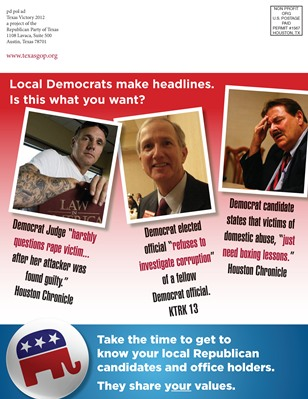 Republican Mailer - Page 1