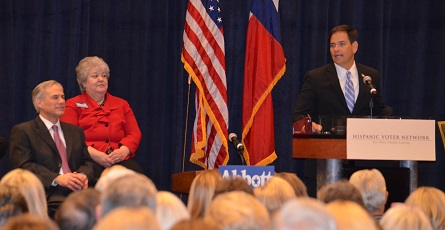 Marco Rubio and AG Greg Abbott Address Texans on Immigration Reform