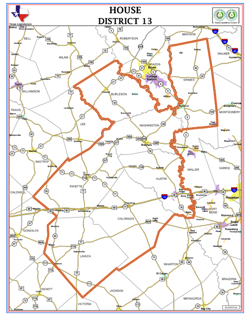 Map Of Texas District 6.In Texas Hd 13 Race Bankruptcy Child Support Delinquency And