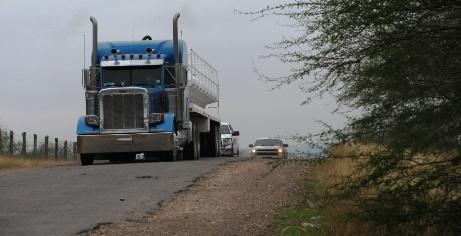Overweight Trucks destroying roadways in DeWitt County and across Texas