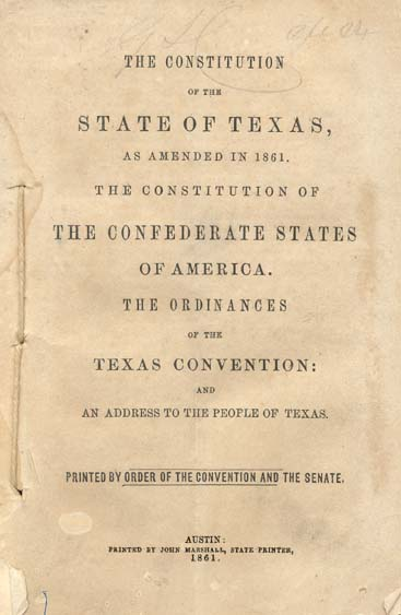 The texas and u.s. constitution essay