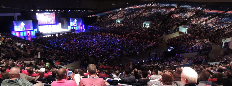 The 2014 Republican State Convention took place in Fort Worth from
