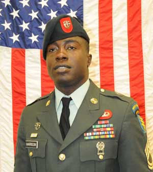Green Beret Sergeant First Class Calvin B  Harrison Coldspring