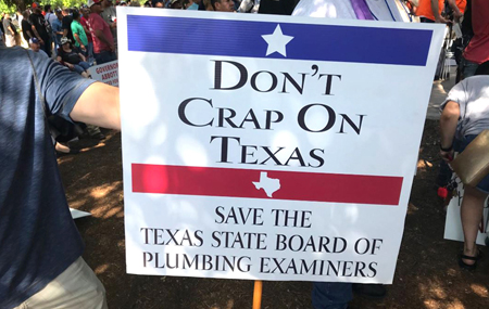 don't crap on tx sign