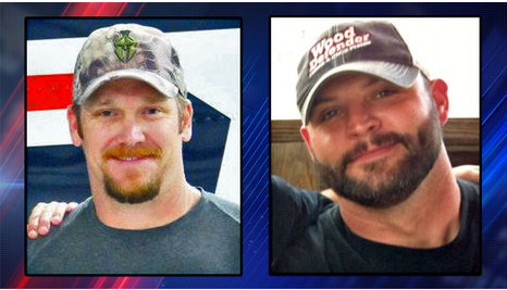 Chris Kyle and Chad Littlefield