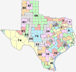 Urgent Texas Redistricting Update New Proposed Texas State Rep - Texas map state