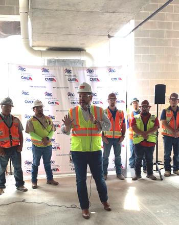 Ted Cruz construction site