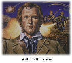 Lt. Colonel William Barrett Travis